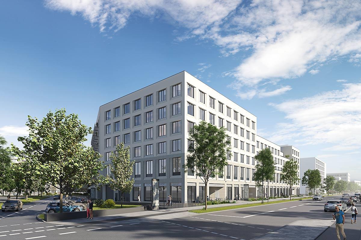 SÜDWINK - Modernes Ärztehaus in München am Südpark.