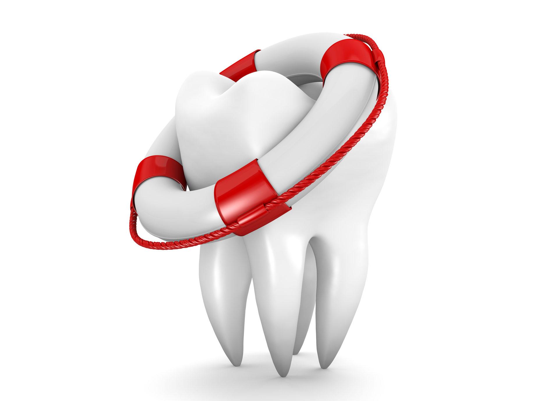 Lockere Zähne retten, sonst droht Zahnverlust