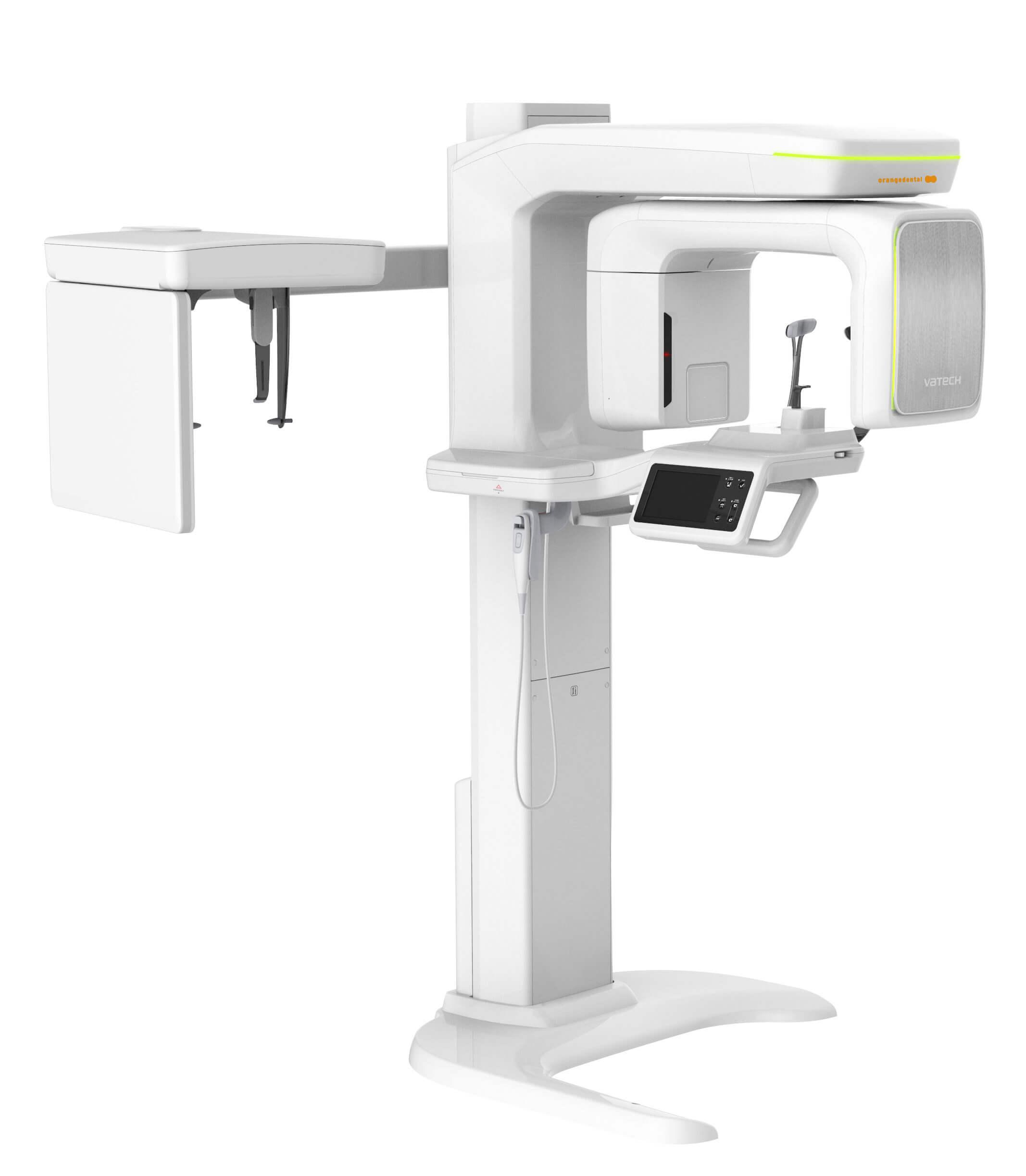 Modernes DVT-Röntgengerät für den Einsatz beim digitalen Röntgen.