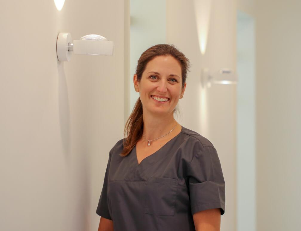 Yvonne Gebhardt Dentalhygiene bei MunichDent
