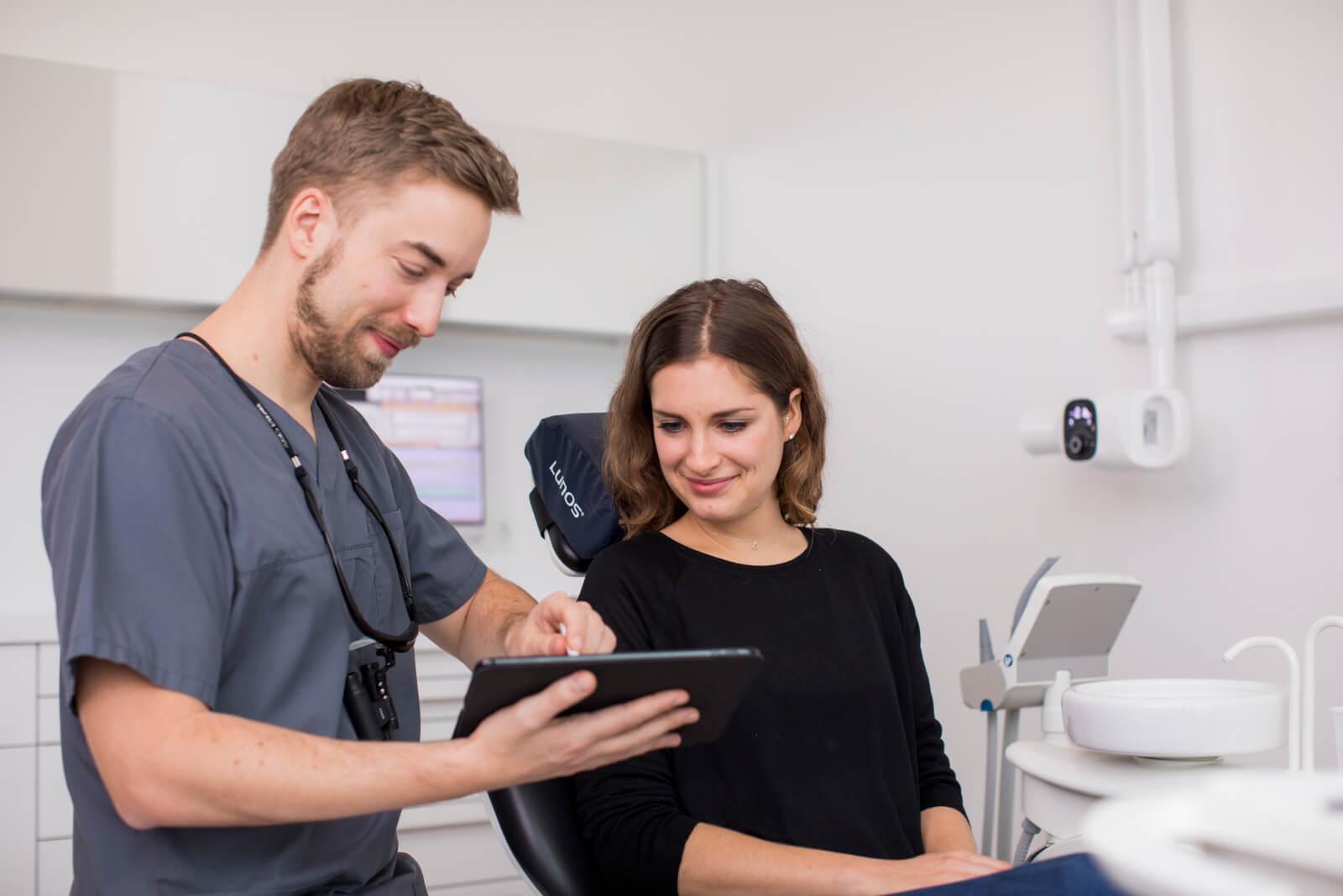 Unsere Leistungen bieten das gesamte Spektrum der modernen Zahnheilkunde
