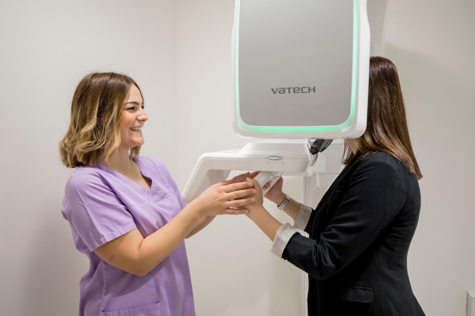 Zu unserer Technik und Ausstattung gehört ein hochmodernes OPG-Röntgengerät