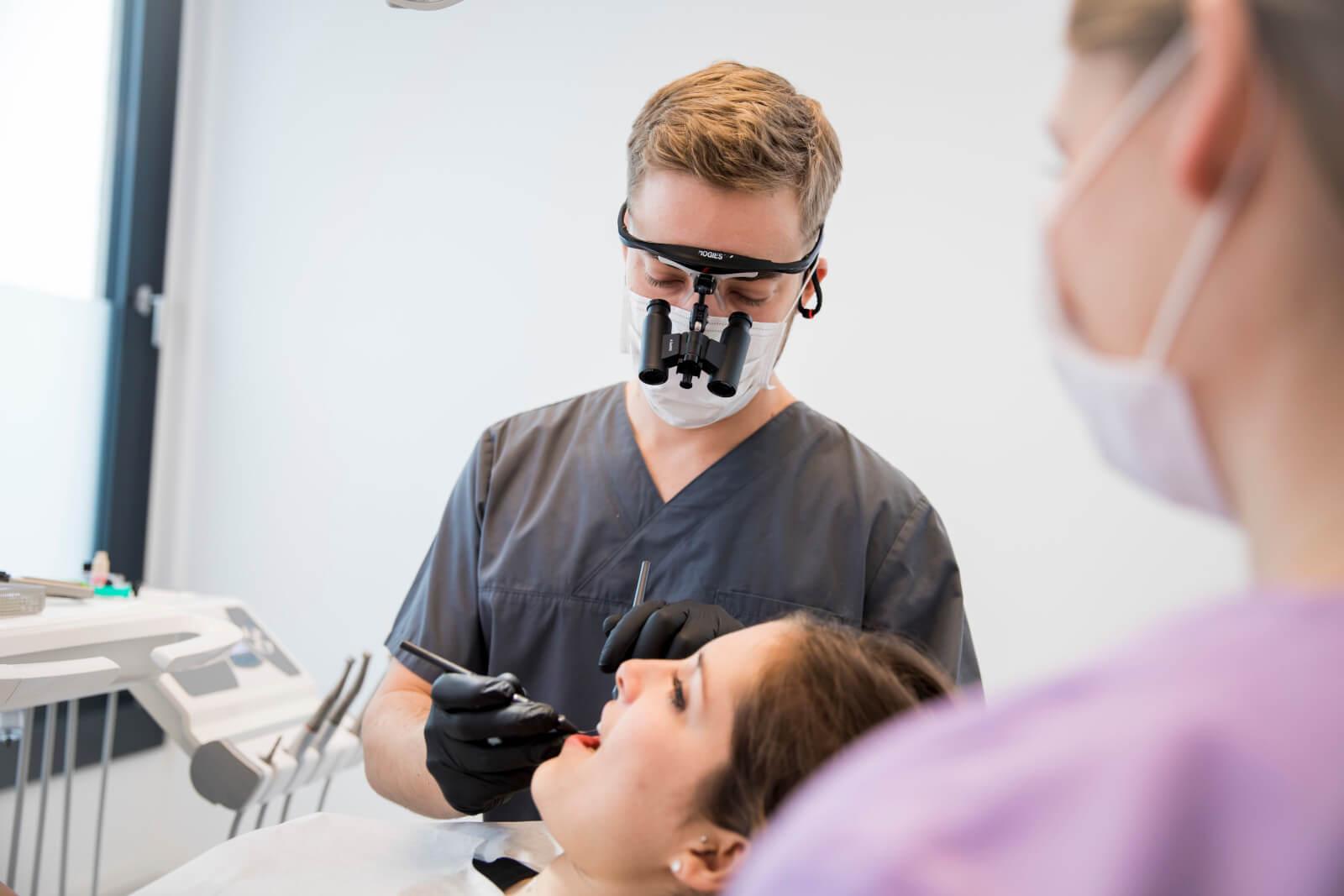 Ihr erster Besuch bei uns gilt der allgemeinen Diagnostik ihrer Zahn- und Mundgesundheit