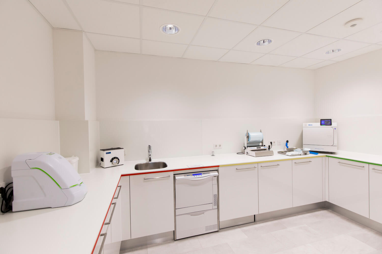 Zimmer Sterilisation